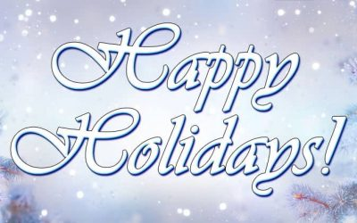 Happy Holidays And May 2020 Bless You